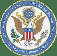 St. Augustin Blue Ribbon seal