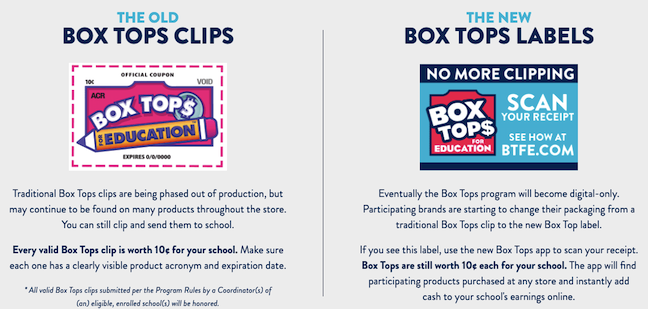No More Clipping|St  Augustin Box Tops for Education Goes