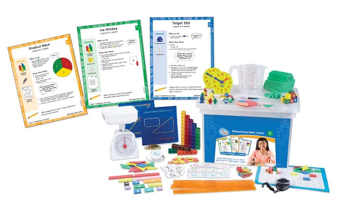 Differentiated Math Centers Kit